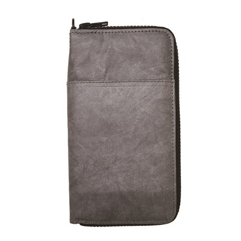 SLOWER BAG PASSPORT WALLET GRAY